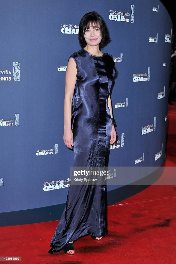 Red Carpet Arrivals - Cesar Film Awards 2015 At Theatre du Chatelet