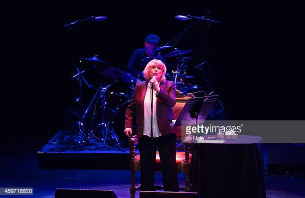 Marianne Faithful performs on stage at the Royal Festival Hall on November 29 2014 in London United Kingdom