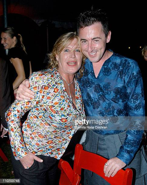 Marianne Faithfull and Alan Cumming during Robert Wilson Presents China Moon The 11th Annual Watermill Center Summer Benefit at The Watermill Center...