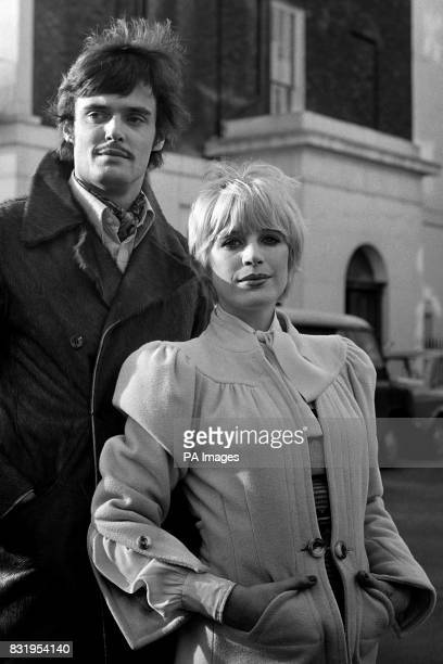 Marianne Faithfull and Simon Williams who are to costar in David Parker's sinister and enthralling play 'The Collector'