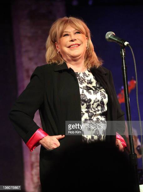 Marianne Faithfull performs at the City Winery on December 18 2011 in New York City