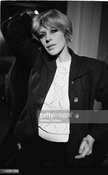 Marianne Faithfull portrait London June 1982
