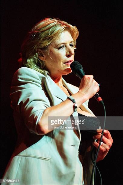 Marianne Faithfull vocal performs at the Paradiso on July 6th 1999 in Amsterdam Netherlands