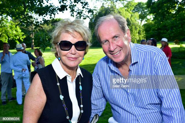 Marianne Feig and Peter Feig attend Maison Gerard Presents Marino di Teana A Lifetime of Passion and Expression at Michael Bruno and Alexander...