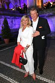 Marianne Hartl and her husband Michael Hartl during the MercedesBenz reception at 'Klassik am Odeonsplatz' 2016 on July 17 2016 in Munich Germany