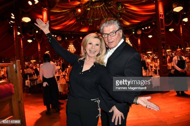 Marianne Hartl and Michael Hartl during the Jose Carreras charity dinner at Schuhbecks Teatro on February 13 2017 in Munich Germany
