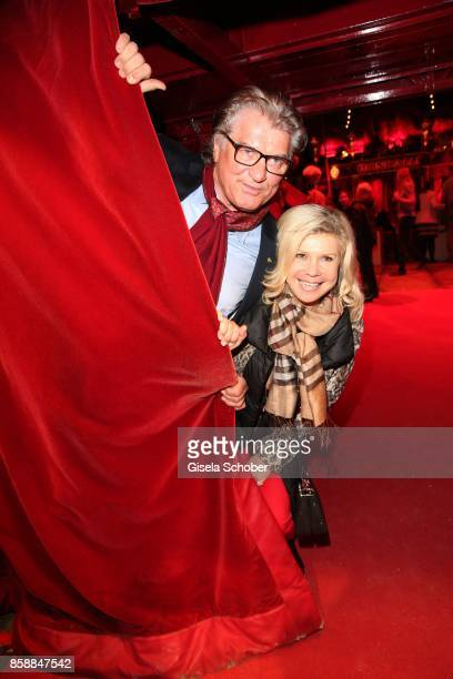 Marianne Hartl and Michael Hartl during the premiere of the Circus Roncalli '40 Jahre Reise zum Regenbogen' on October 7 2017 in Munich Germany