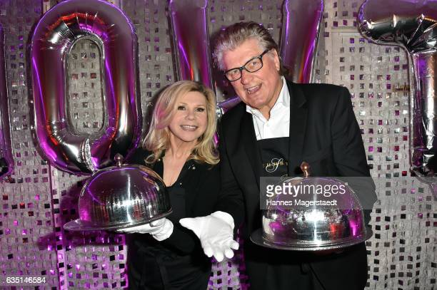 Marianne Hartl and Michael Hartl the Jose Carreras charity dinner at Schuhbecks Teatro on February 13 2017 in Munich Germany