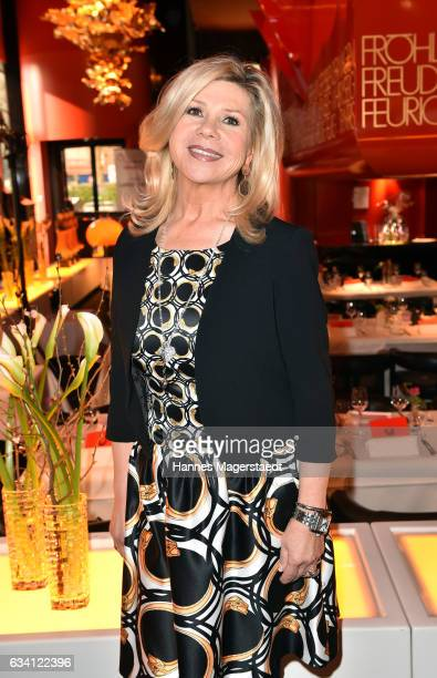 Marianne Hartl during the 'DKMS Life Charity Ladies Lunch' at Tantris Restaurant on February 7 2017 in Munich Germany