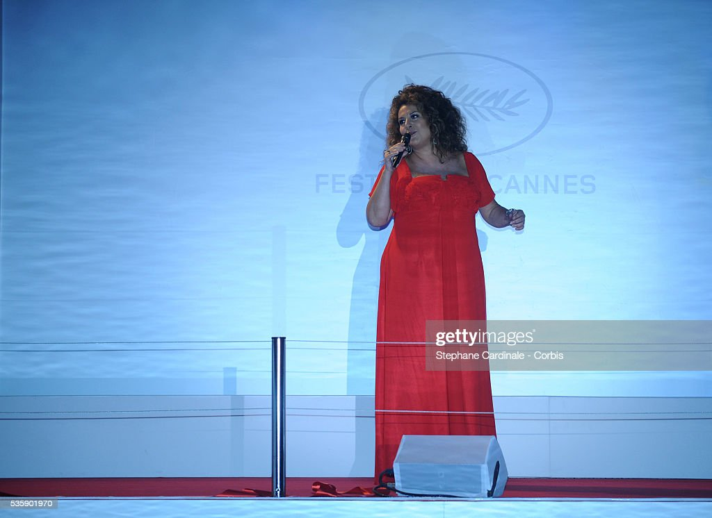 Marianne James at the Opening Dinner during the 63rd Cannes International Film Festival.