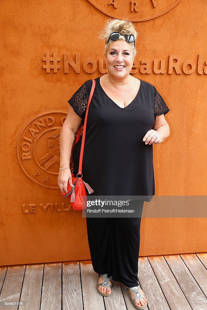 Marianne James attends The French Tennis Open Day Seven at Roland Garros on May 28, 2016 in Paris, France.