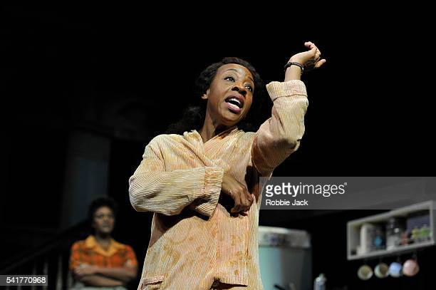 Marianne JeanBaptiste as Margaret Alexander and Sharon D Clarke as Odessa in James Baldwin's The Amen Corner directed by Rufus Norris at the National...