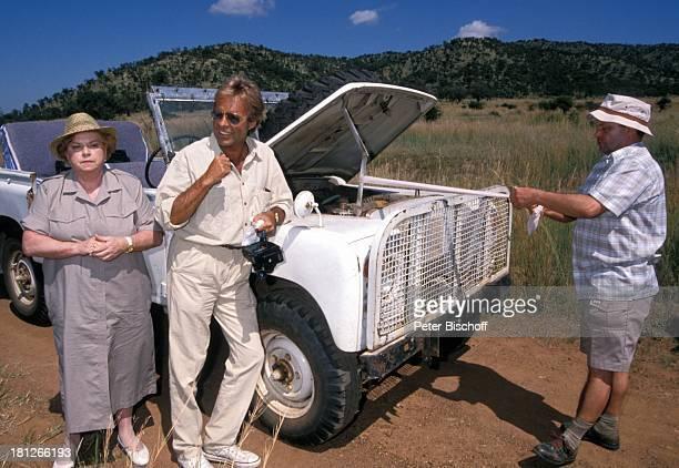 Marianne Kiefer Thomas Fritsch Christian Ebel PRO 7 Serie 'Glueckliche Reise ' Folge 18 'Sun City' 'The Lost City'/SüdAfrika Südafrika Episode 1...