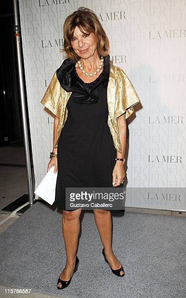 MarianneTessler attends the La Mer Celebrates 'Liquid Light' By Fabien Baron at The Glass Houses on September 10 2008 in New York City