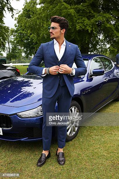 Mariano Di Vaio at the Maserati Jerudong Park Trophy at Cirencester Park Polo Club on May 24 2015 in Cirencester England