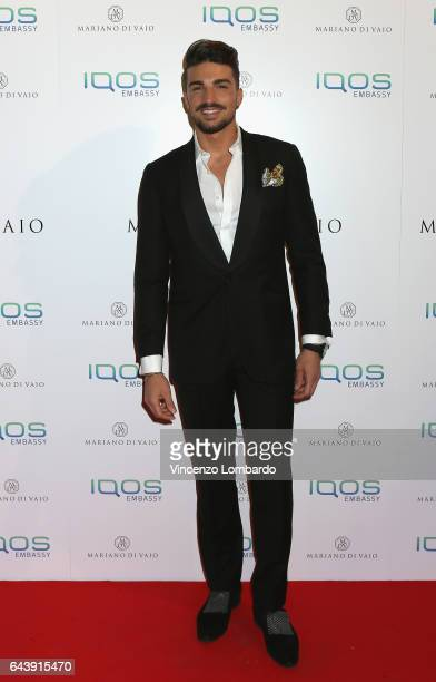 Mariano Di Vaio attends a party for Mariano Di Vaio's blog on February 22 2017 in Milan Italy