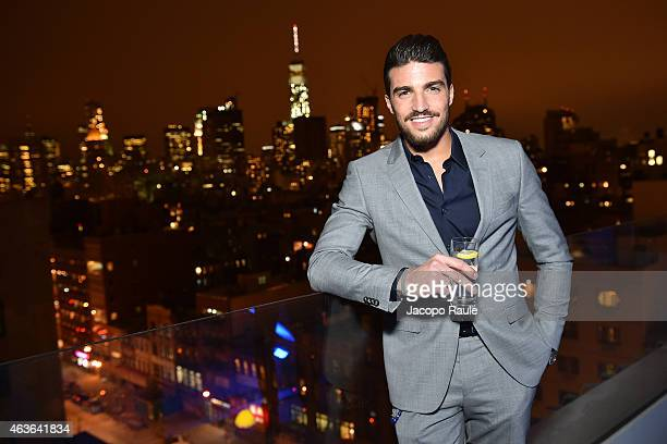Mariano Di Vaio attends ItaliaIndependent Boutique Opening After Party at the Sky Room at the New Museum on February 16 2015 in New York City