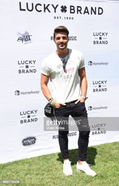 Mariano Di Vaio attends Lucky Lounge Presents Desert Jam on April 16 2017 in Palm Springs California