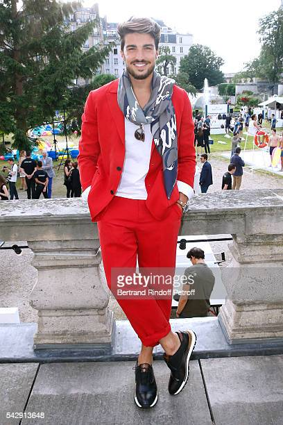 Mariano di Vaio attends the Berluti Menswear Spring/Summer 2017 show as part of Paris Fashion Week on June 24 2016 in Paris France