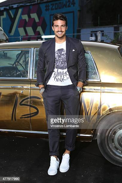 Mariano Di Vaio attends the Philipp Plein show during the Milan Men's Fashion Week Spring/Summer 2016 on June 20 2015 in Milan Italy