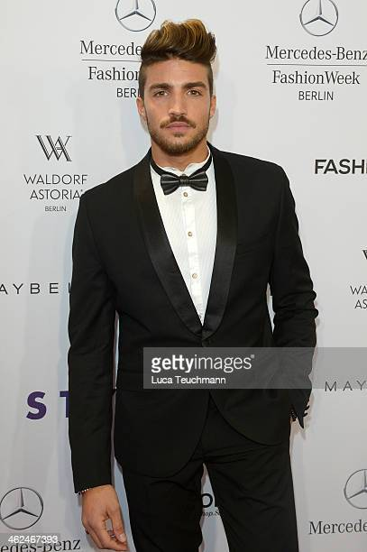 Mariano Di Vaio attends the Stylight Fashion Blogger Awards at Brandenburg Gate on January 13 2014 in Berlin Germany