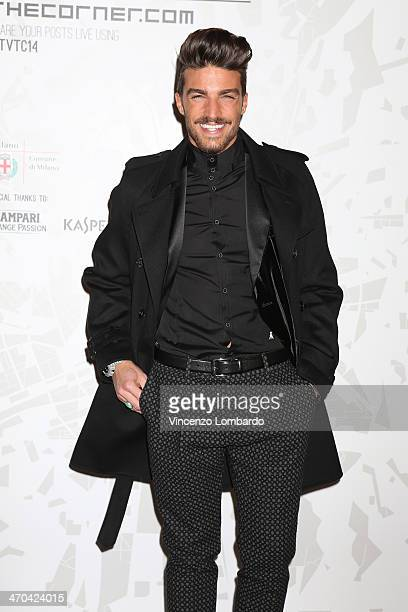 Mariano Di Vaio attends the The Vogue Talents Corner fashion show during Milan Fashion Week Womenswear Autumn/Winter 2014 on February 19 2014 in...