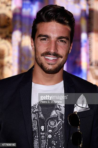 Mariano Di Vaio attends the Versace show during the Milan Men's Fashion Week Spring/Summer 2016 on June 20 2015 in Milan Italy