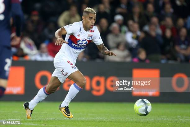Mariano Diaz of Lyon during the French Ligue 1 match between Paris Saint Germain and Olympique Lyonnais at Parc des Princes on September 17 2017 in...