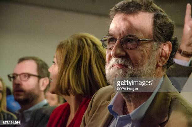 Mariano Rajoy President of the Spanish Government during the political rally of the Popular Party of Catalonia The Popular Party of Catalonia has...