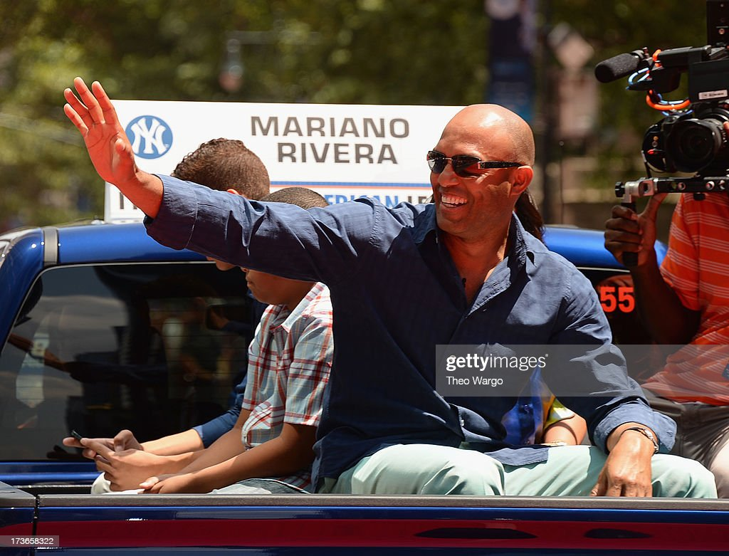 <a gi-track='captionPersonalityLinkClicked' href=/galleries/search?phrase=Mariano+Rivera&family=editorial&specificpeople=201607 ng-click='$event.stopPropagation()'>Mariano Rivera</a> attends MLB All-Star Game Red Carpet Show Presented by Chevrolet on July 16, 2013 in New York City.