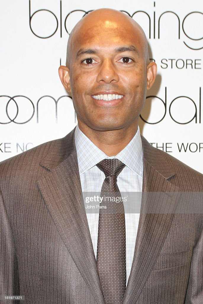 Mariano Rivera attends the Bloomingdale's 59th Street and Canali welcome Mariano Rivera in support of the Mariano Rivera Foundation at Bloomingdale's 59th Street Store on September 13, 2012 in New York City.