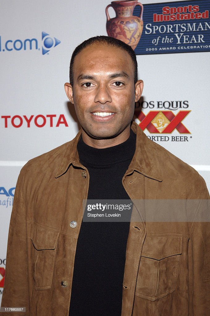 <a gi-track='captionPersonalityLinkClicked' href=/galleries/search?phrase=Mariano+Rivera&family=editorial&specificpeople=201607 ng-click='$event.stopPropagation()'>Mariano Rivera</a> during Sports Illustrated 2005 Sportsman of the Year Party - Arrivals at Stone Rose in New York City, New York, United States.
