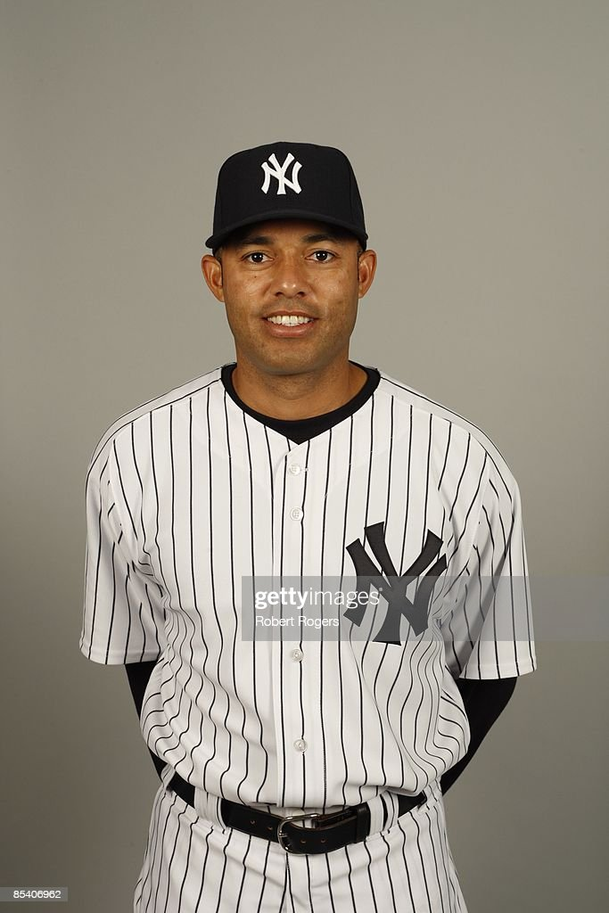 Mariano Rivera of the New York Yankees poses during Photo Day on Thursday, February 19, 2009 at Steinbrenner Field in Tampa, Florida.