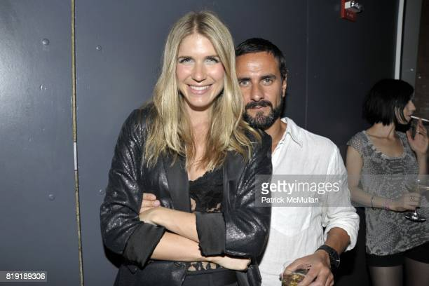 MariaTheresia James Hanney attend DAVID LACHAPELLE'S AMERICAN JESUS After Party at the Top of the Standard on July 13 2010 in New York City