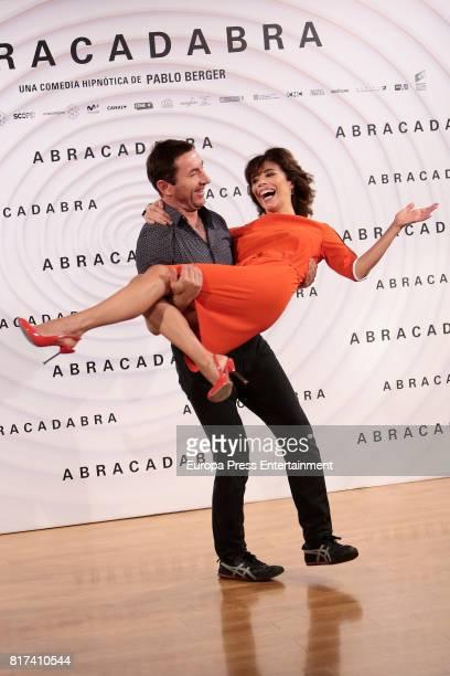 Maribel Verdu and Antonio de la Torre attend 'Abracadabra' Madrid photocall on July 17 2017 in Madrid Spain