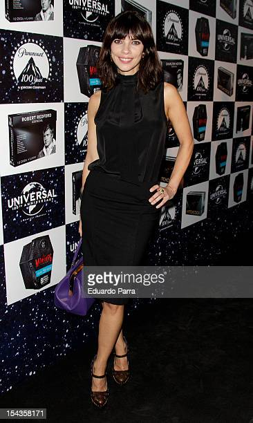Maribel Verdu attends Paramount and Universal new BluRay and DVD collection photocall at Madrid Cityhall on October 18 2012 in Madrid Spain