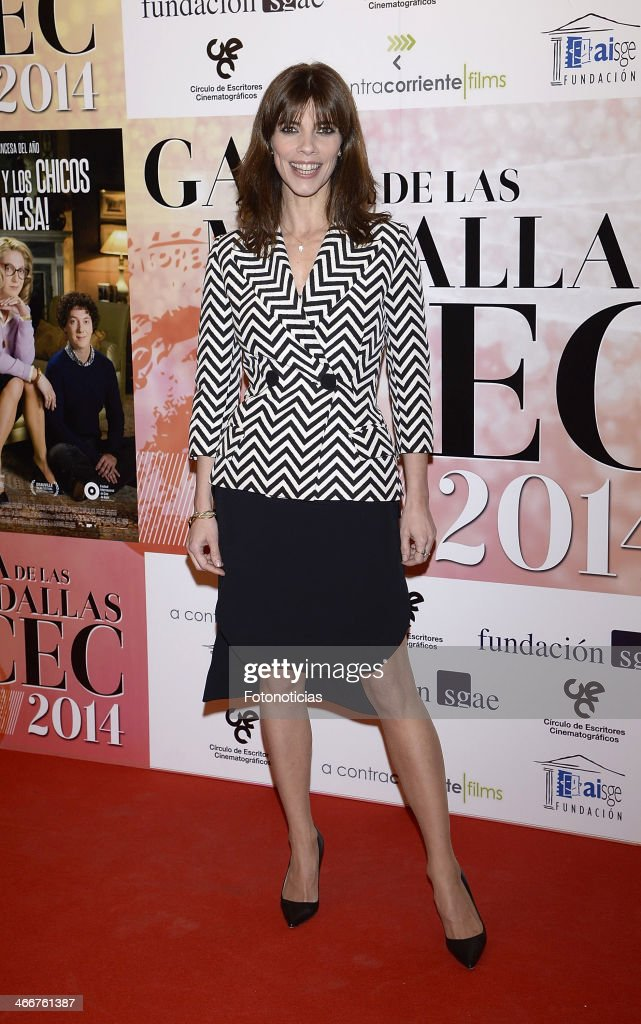 Maribel Verdu attends the 'CEC' medals 2014 ceremony at the Palafox cinema on February 3, 2014 in Madrid, Spain.