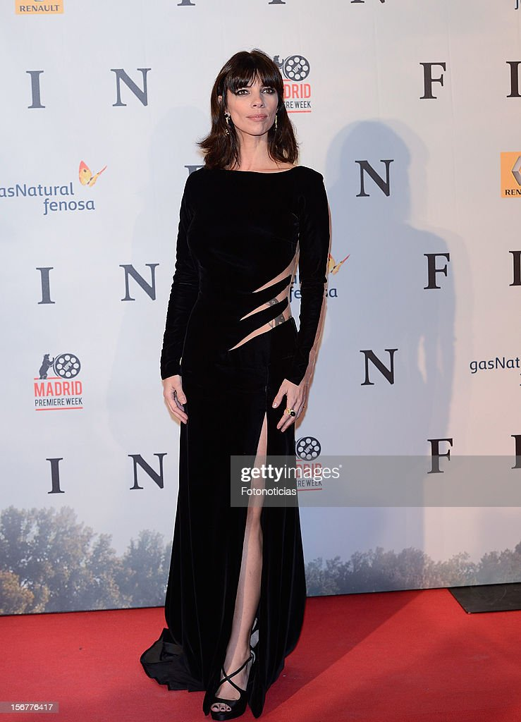 Maribel Verdu attends the premiere of 'Fin' at Callao Cinema on November 20, 2012 in Madrid, Spain.