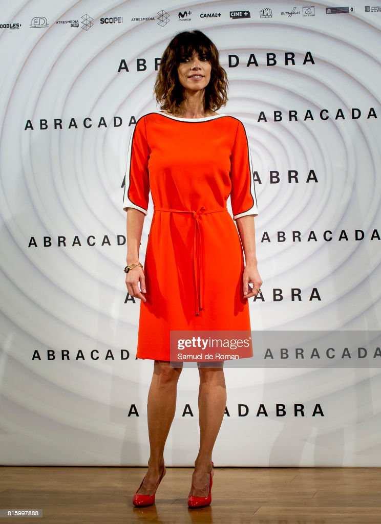 Maribel Verdu during 'Abracadabra' Madrid Photocall on July 17, 2017 in Madrid, Spain.
