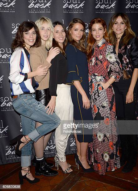 Maribel Verdu Ingrid GarciaJonsson Barbara Goenaga Almudena Fernandez Juana Acosta and Goya Toledo attend the Soulbask charity rings presentation at...