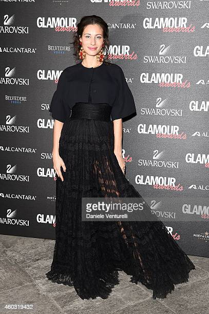 Marica Pellegrinelli attends Glamour Awards 2014 on December 11 2014 in Milan Italy