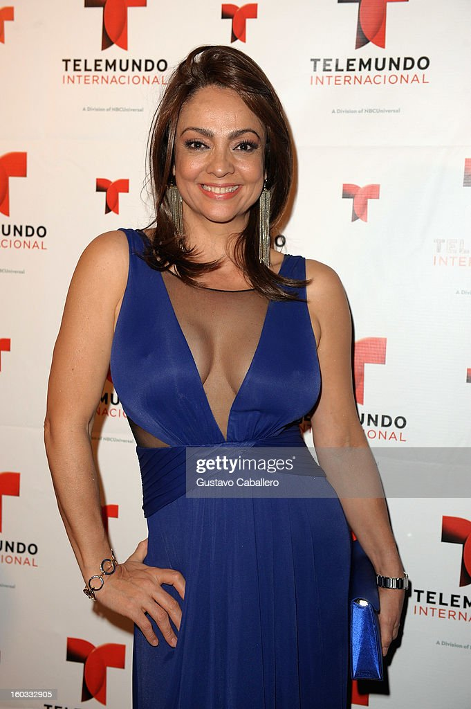 Maricela Gonzalez attends Telemundo International NATPE VIP Party at Bamboo Miami on January 28, 2013 in Miami, Florida.
