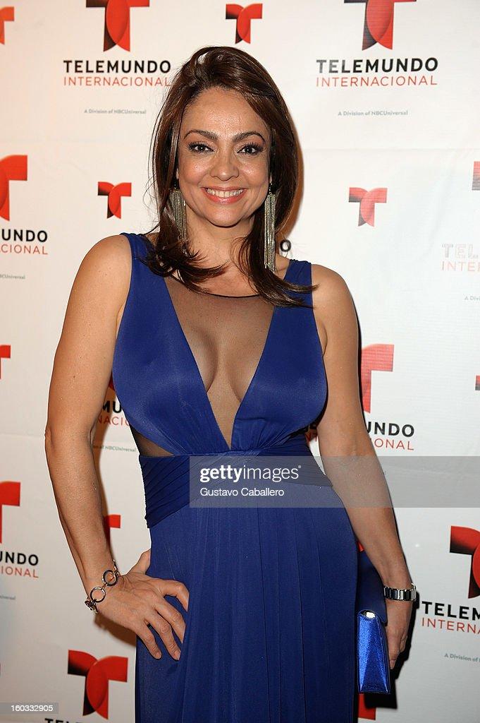 Maricela Gonzalez attends Telemundo International NATPE VIP Party at Bamboo Miami on January 28, 2013 in Miami, Florida.