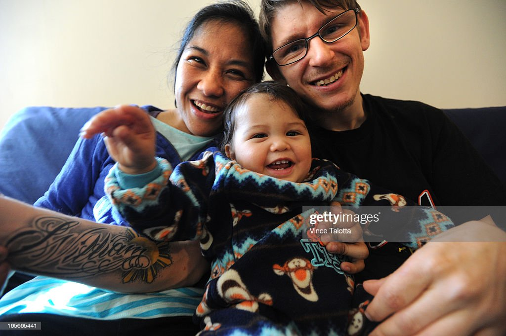 Maricyl Palisoc and Charles Wilton(has his son's name tattooed to his forearm) nearly lost their son William , who turns one tomorrow, to Peel Children's Aid Society, who questioned whether the parents, who both have cerebral palsy, would be able to care for a baby. As the Star reported, they proved CAS wrong, and won the right to raise their child are are enjoying him everyday of their lives at home.