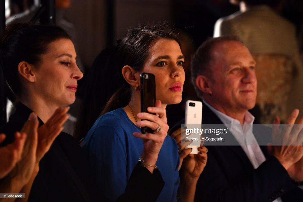 marie-agnes-gillotcharlotte-casiraghi-and-francoishenri-pinault-the-picture-id648531888
