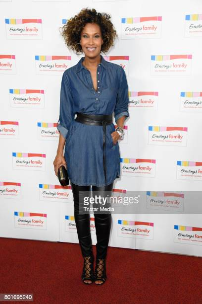 Marie Amerie attends the Ernsting's Family Fashion Show at Stage Operettenhaus on June 26 2017 in Hamburg Germany