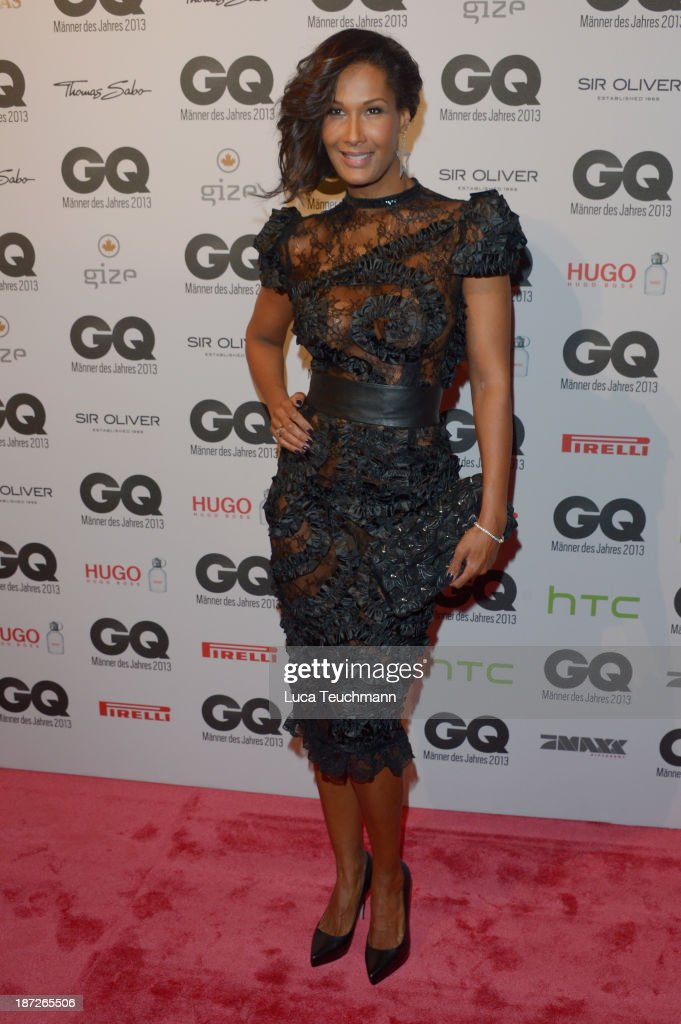 Marie Amière arrives at the GQ Men of the Year Award at Komische Oper on November 7, 2013 in Berlin, Germany.