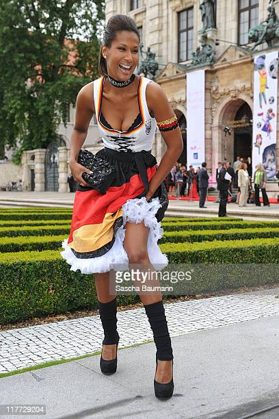 Marie Amiere attends the Women's World Cup Night as part of the Digital Life Design women conference at Bavarian National Museum on June 30 2011 in...