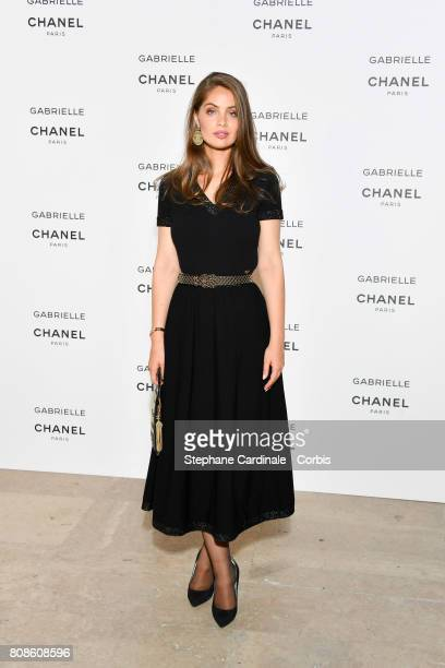 Marie Ange Casta attends the launch party for Chanel's new perfume 'Gabrielle' as part of Paris Fashion Week on July 4 2017 in Paris France