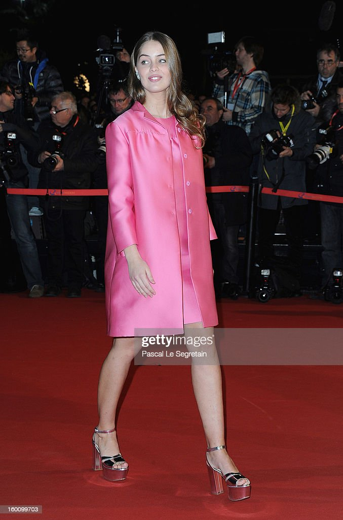 Marie Ange Casta attends the NRJ Music Awards 2013 at Palais des Festivals on January 26, 2013 in Cannes, France.